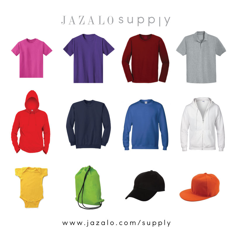 JAZALO supply - Baju Kosong